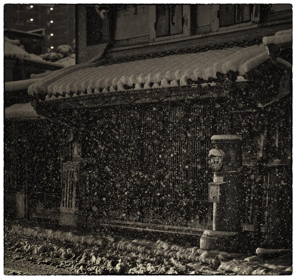「みんな雪の中10」小江戸川越散歩159